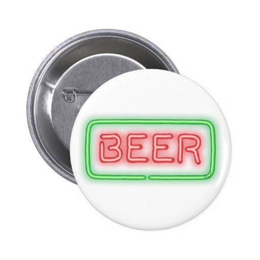 Beer Pinback Buttons