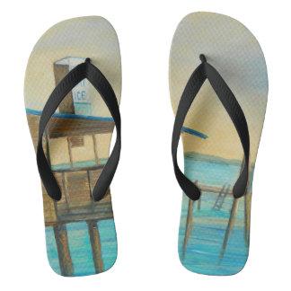 BEER BAIT ICE Flip Flops