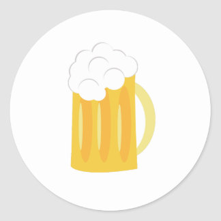 Beer Base Round Sticker