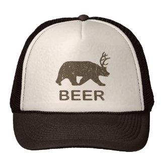 Beer Bear Deer Cap