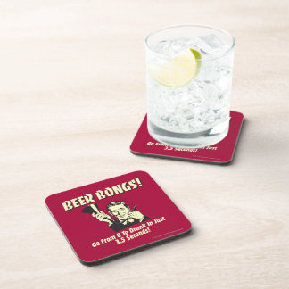 Beer Bongs: Go From 0 To Drunk In 3.5 Drink Coaster