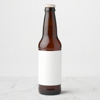 Beer Bottle Label Sticker