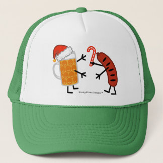 Beer & Bratwurst - Christmas Trucker Hat