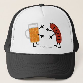 Beer & Bratwurst Trucker Hat
