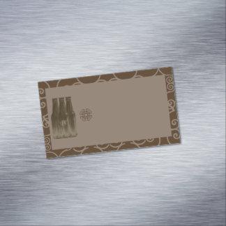 Beer Brew Business Card Magnet blank