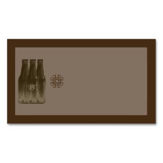 Beer Brew Business Card Magnet Blank 3