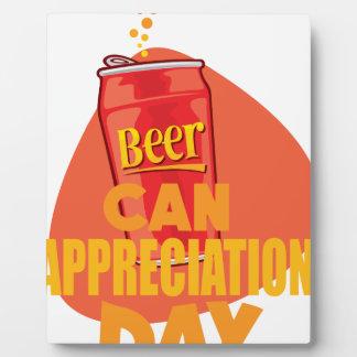 Beer Can Appreciation Day - Appreciation Day Plaque