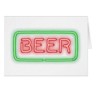 Beer Card