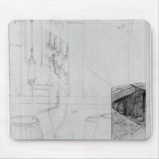 Beer Cellar equipment, 1825 Mouse Pad