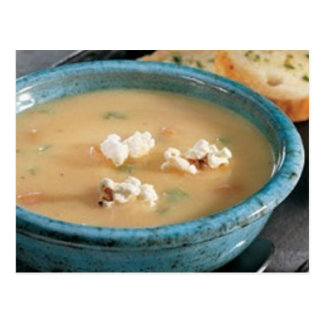 Beer Cheese Soup Recipe Postcard