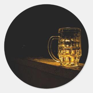 Beer... Classic Round Sticker