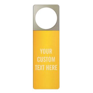 BEER custom door hanger