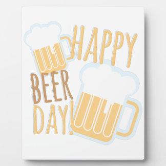 Beer Day Plaque