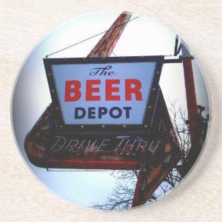Beer Depot Drink Coasters