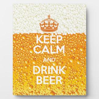 Beer Display Plaque