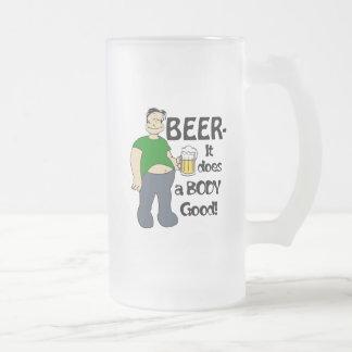 Beer does a body good Mug