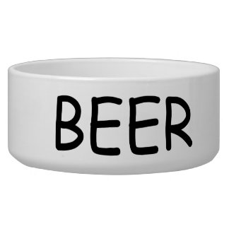 Beer Dog Bowl