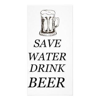 Beer Drink Food Card
