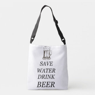 Beer Drink Food Crossbody Bag