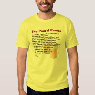 Beer Drinker's Prayer - The Pour'd Prayer Tshirt