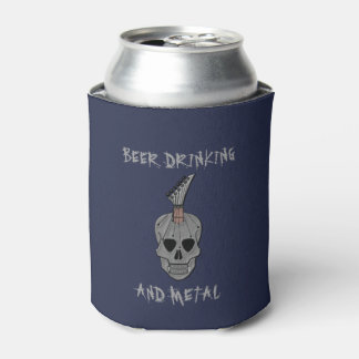 Beer Drinking and Metal Can Cooler