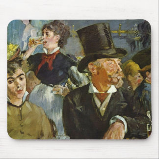 Beer Drinking - Edouard Manet Mouse Pad