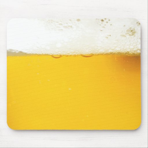 Beer Drinking Mousepad