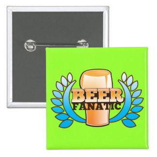 BEER FANATIC design Button