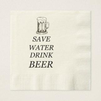 Beer Food Drink Paper Napkin
