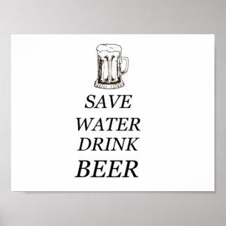 Beer Food Drink Poster