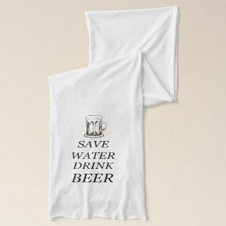 Beer Food Drink Scarf