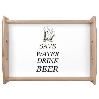 Beer Food Drink Serving Tray