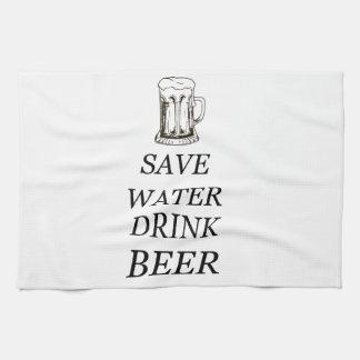 Beer Food Drink Tea Towel