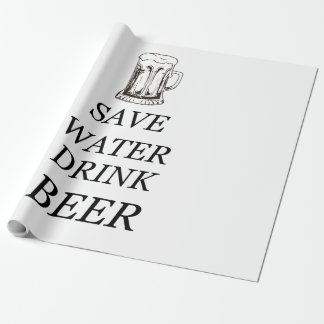 Beer Food Drink Wrapping Paper