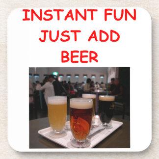 beer fun coaster