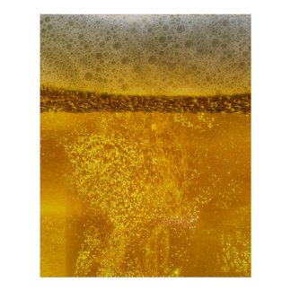 Beer Galaxy a Celestial Quenching Foam Poster
