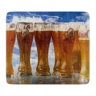 BEER! - Glass Cutting Board
