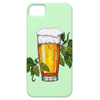 Beer Glass & Hops iPhone 5 Cases