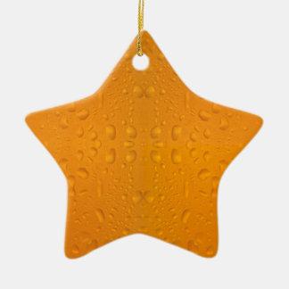 Beer glass macro pattern 8868 ceramic star decoration