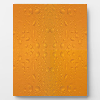 Beer glass macro pattern 8868 plaque