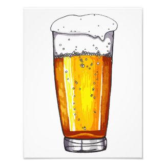 Beer Glass Photo Art