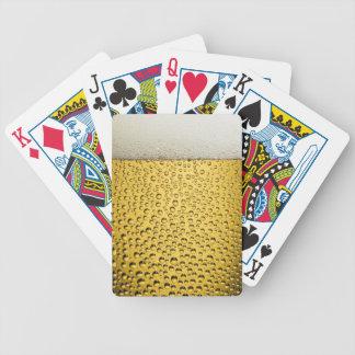Beer Glass Poker Deck
