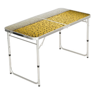 Beer Glass Pong Table