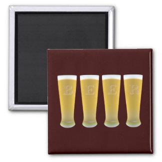 Beer Glasses Magnet