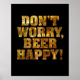 Beer Happy Poster or Print
