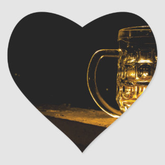 Beer... Heart Sticker