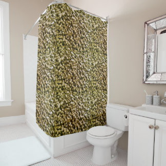 Beer Hops Brewery Home Brew Hop Head Shower Curtain