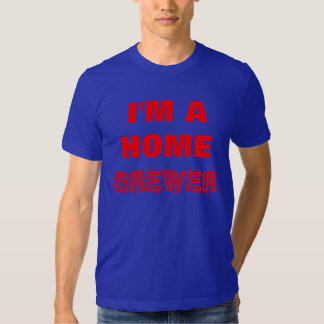 Beer- I'M A HOME BREWER, Red Shirts