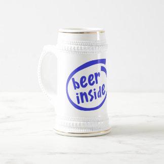 Beer Inside Beer Stein
