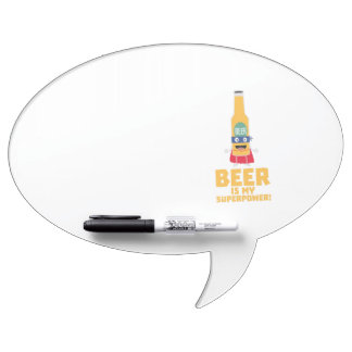 Beer is my superpower Zync7 Dry Erase Board